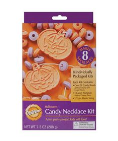 Halloween Candy Necklace Kit, $2.50, joann.com, #dailyfinds