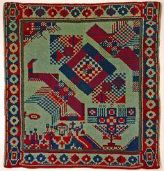 Johannes Itten Carpet, ca 1920 Museum für Gestaltung Zürich, Applied Art Collection Photo: Marlen Perez, Museum für Gestaltung, © ZHdK