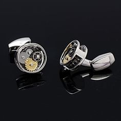 Men's Formal Business Groom Suits Shirt Watch Gear Cufflinks for #Christmas Gift (More Colors)