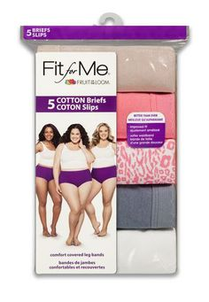Fruit of the Loom Women's Cotton Brief - Pack of 5