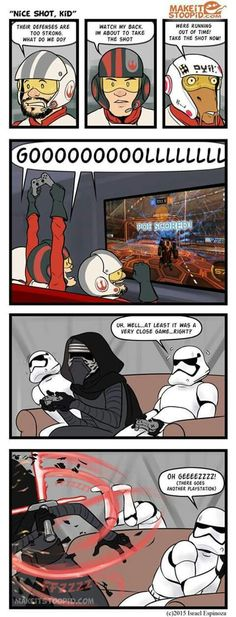 Typical Kylo..