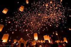 Yi Peng festival- Thailand