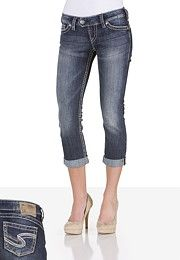 Silver Jeans Co.® Tuesday Rolled Capri - maurices.com