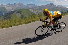 This photo inspires me by the view of the mountains in the background it shows what can be accomplished through cycling