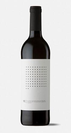 Extreme Minimalist Wine Packaging : Kvassay