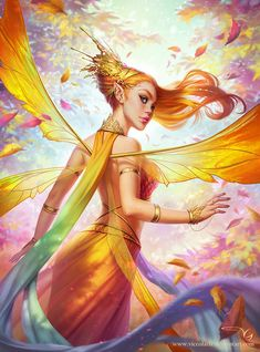 Had the honor of doing the cover artwork for ImagineFX Issue An autumny queen Titania! Winx Club, Character Concept, Character Art, Concept Art, Fairy Queen, Queen Art, New Backgrounds, Traditional Paintings, Fantasy Illustration