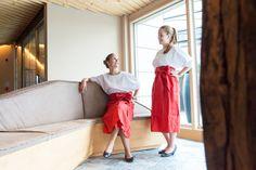 #alpinadolomites #rezeption #team #seiseralm #thomaseth #fashionforwork #leadinghotelsoftheworld #red