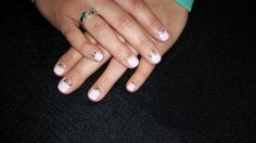 Pink and gold/glitter