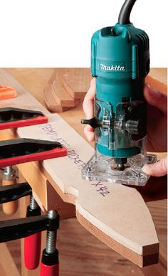 Workshop Uses For A Trim Router Routing Techniques: Use Trim Router Templates to Duplicate Parts. Woodworking ToolsRouting Techniques: Use Trim Router Templates to Duplicate Parts. Woodworking School, Router Woodworking, Learn Woodworking, Woodworking Techniques, Woodworking Furniture, Woodworking Crafts, Unique Woodworking, Japanese Woodworking, Youtube Woodworking