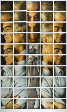 Galimberti - Mosaic #portrait of Fabio Castelli