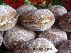 Hungarian Cookies, Hungarian Desserts, Hungarian Recipes, Sweet Desserts, Sweet Recipes, Dessert Recipes, Sweet Cookies, Sweets Cake, Wedding Desserts