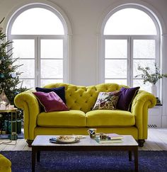 Check out our new Joules Home range and give your home a fresh look with an exclusive Joules Sofa featuring beautiful floral patterns and nautical-inspired stripes. Colourful Living Room, Living Room Colors, New Living Room, Formal Living Rooms, Living Room Sofa, Living Room Decor, Victorian Sofa, Victorian Living Room, Chesterfield Living Room