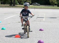bike rodeo at Falling Creek Elementary