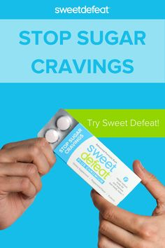 Sweet Defeat is a clinically proven, patented formulation of natural ingredients that can help you stop your sugar cravings in seconds. It will help you retrain your sugar brain! Stop Sugar Cravings, How To Stop Cravings, No Sugar Diet, Low Sugar, Sugar Consumption, Starchy Vegetables, Gram Of Sugar, Baked Fish, Lean Body