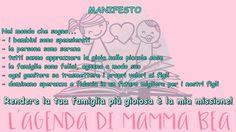 Il Manifesto de L'Agenda di Mamma Bea