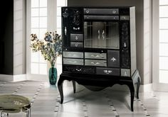 Black is a color related to the hidden, the secretive and also the unknown creating an air of mystery. Check out Black Buffets and Cabinets for a modern Home.