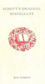 Schott's Miscellany - Wikipedia, the free encyclopedia
