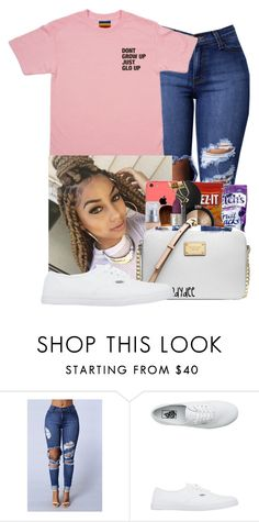 """""""Untitled #644"""" by diamondfoster919 ❤ liked on Polyvore featuring Vans"""