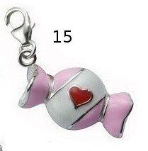 candy 3d bracelet charm
