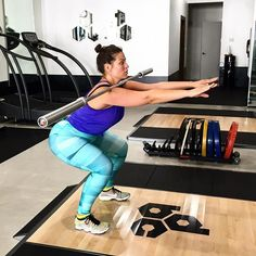 Pin for Later: Model Ashley Graham's Intense Workouts Are Not For the Weak Get Serious While in Miami, Ashley took her workout to DBC Fitness, where NBA stars Dwyane Wade and Lebron James also train.