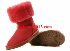 UGG Red 5815 Classic Tall Boots Wholesale Online