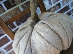 Hey, I found this really awesome Etsy listing at https://www.etsy.com/listing/60319319/autumnal-arts-series-burlap-pumpkin
