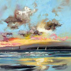 Sound of Mull Lighthouse by ~NaismithArt