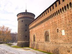 Castles in Italy - Sforza Castle