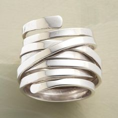 Wrap-around ring - Click image to find more Women's Fashion Pinterest pins