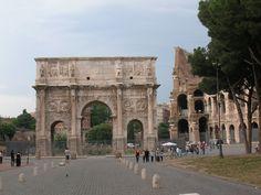 Arch of Constantine, San Pietro da Prati, Rome.