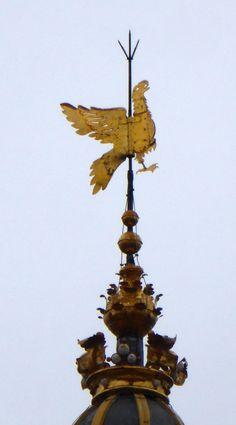 Windvane of an #eagle on top of the church Der Aa kerk #Groningen #Netherlands