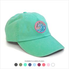 Catch the Wave Baseball Hat - Choose your hat color!