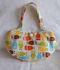 Owl Bag, Girls Bag, Owl Handbag, Little girls bag