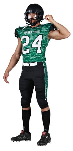 Rawlings Adult Sublimated Football Jersey - Warriors