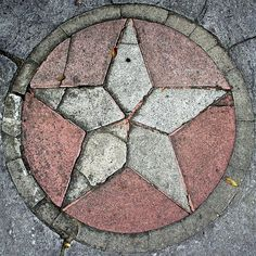5point concrete  star