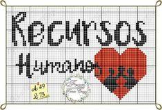 Recursos humanos Cross Stitch, Teen, Cross Stitch Flowers, Comics, Colors, Cross Stitches, Tulips, Recipes, Craft