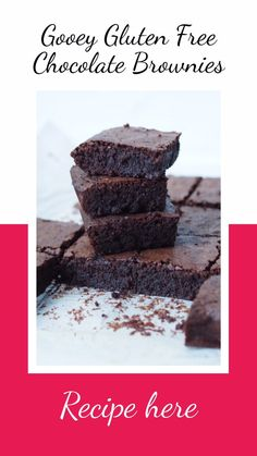 Gooey Gluten Free Chocolate Brownies