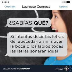 ¿Ya lo intentaste? #DatoInteresante #SabiasQue #Laureate