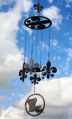 Jason Rhymes  Lafayette, Louisiana,   United States  FREE 45 inch Louisiana State Wind Chime Sail by AcadianaGraphics, $7.00