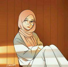 Pin Image by Girlnesia Girls Cartoon Art, Islamic Art, Illustration Art, Art, Cartoon Wallpaper, Cute Cartoon Wallpapers, Islamic Artwork, Islamic Cartoon, Cartoon Art