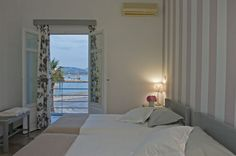 Oasis Hotel in Paros offers you double rooms with all comforts and unlimited sea views for unforgettable holidays. Double room Dimitrios with sea view. Paros Greece, Commercial Center, Double Room, Just Relax, Oasis, Sea, Furniture, Home Decor