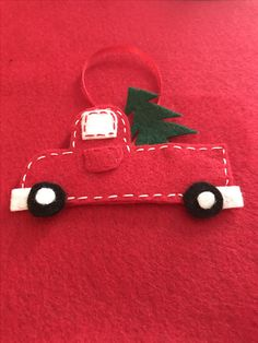 Cute truck I made for Christmas tree