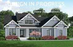 The Delphine house plan 1354 is now in progress!  2512 sq ft | 5 Beds | 3 Baths #wedesigndreams #dongardnerarchitects #houseplans #homeplans #floorplans #twostory  #modernfarmhouse Modern Farmhouse Design, Modern Farmhouse Exterior, Farmhouse Homes, Bedroom House Plans, Cottage House Plans, Dream House Plans, Adele House, Unique Small House Plans, Country Style House Plans