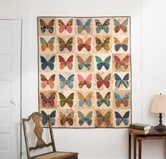 Moda Butterflies by Laundry Basket Quilt Kit on Craftsy Supplies!