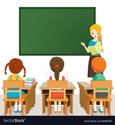Teacher teaching students in classroom, world book day, back to school, educational, Student Cartoon, Teacher Cartoon, Preschool Printables, Preschool Activities, Teacher Teaching Students, Teacher Images, Classroom Images, High School History, Kids Background