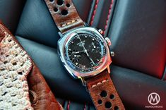 The Heuer Camaro couldn't be in a better place. Description from watchonista.com. I searched for this on bing.com/images