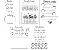 Pumpkin Poems
