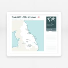 England Leeds LDS Mission   LDS Missionary Map