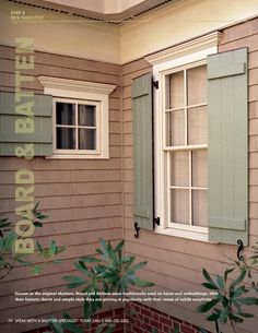 How To Make Board And Battern Shutters Do You Live In A