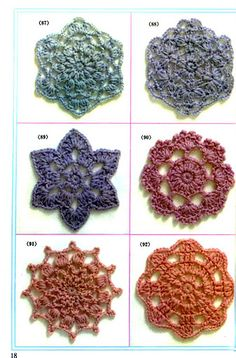 To see the instructions you need to click on Die Motive in the upper left corner.  It will take you to an amazing array of crochet patterns and ideas.